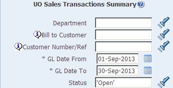 sales transaction summary