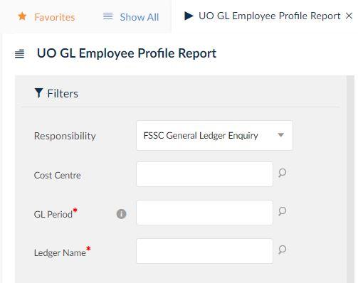 uo gl employee profile