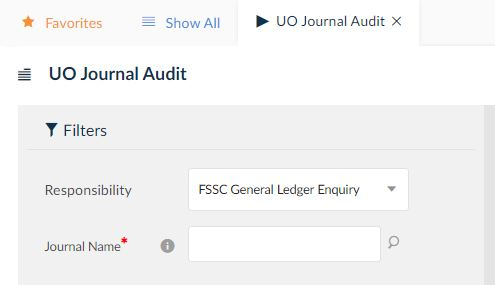 uo journal audit