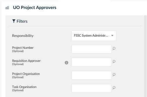 uo project approvers
