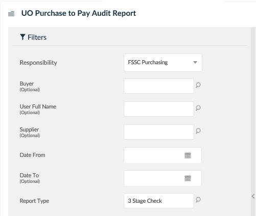 uo purchase to pay audit report
